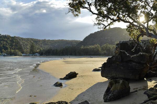 Beautiful coastline along The Emerald Way