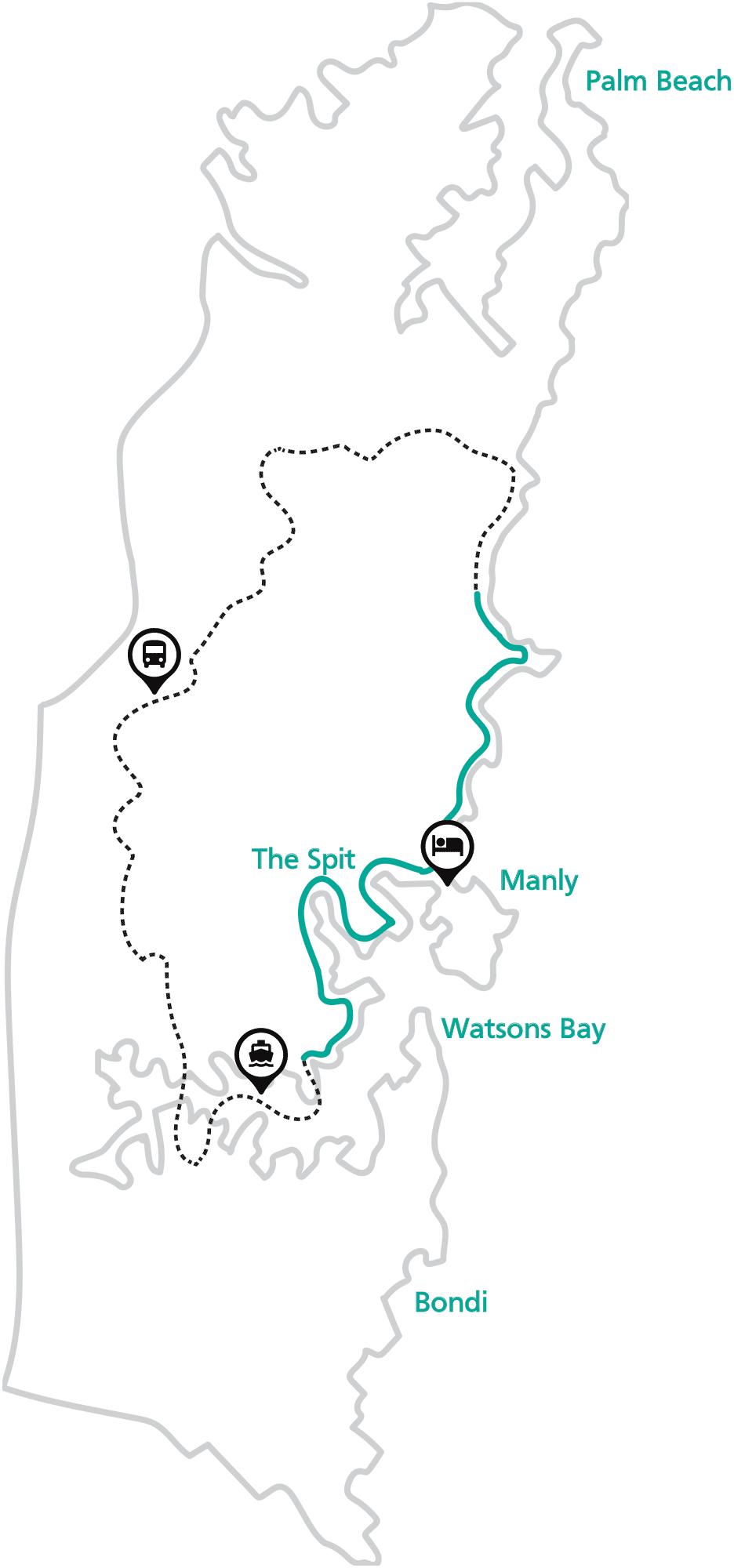 Northern 'Taster' Walk Map