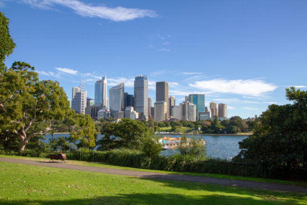 Sydney,Skyline,View,From,The,Mrs,Macquaries,Rd.