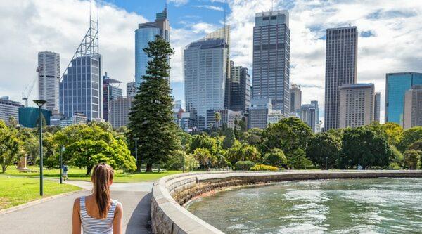 Sydney,City,Australia,Travel,Panorama,Banner.,Landscape,Horizontal,Header,Of
