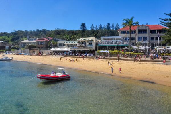 Watsons,Bay,,Australia-september,2020;,Panoramic,View,Of,Watsons,Bay,Beach